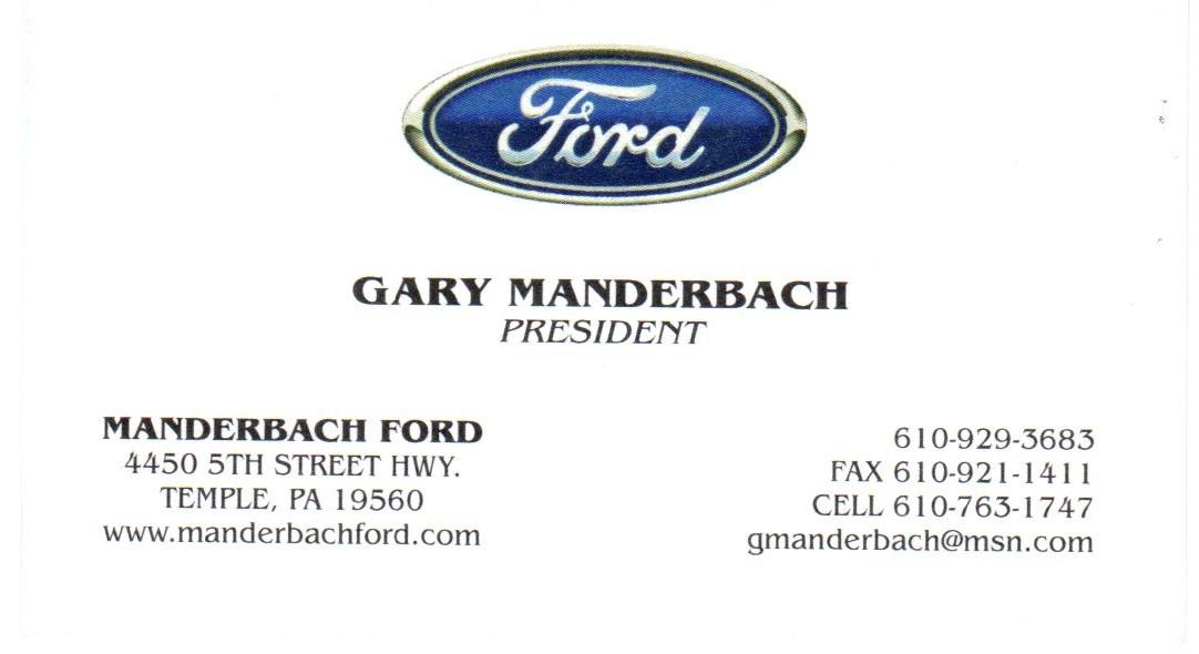 Manderbach Ford
